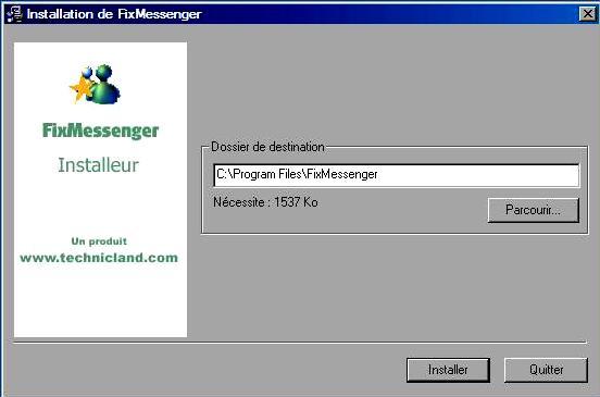 Utilitaire pour Windows Live Messenger